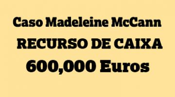 Madeleine McCann greek reward